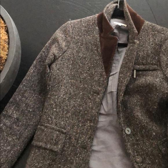 Vince Jackets & Blazers - Vince gray tweed blazer/jacket